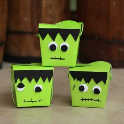 DIY Frankenstein Craft: Make a Halloween Treat Box
