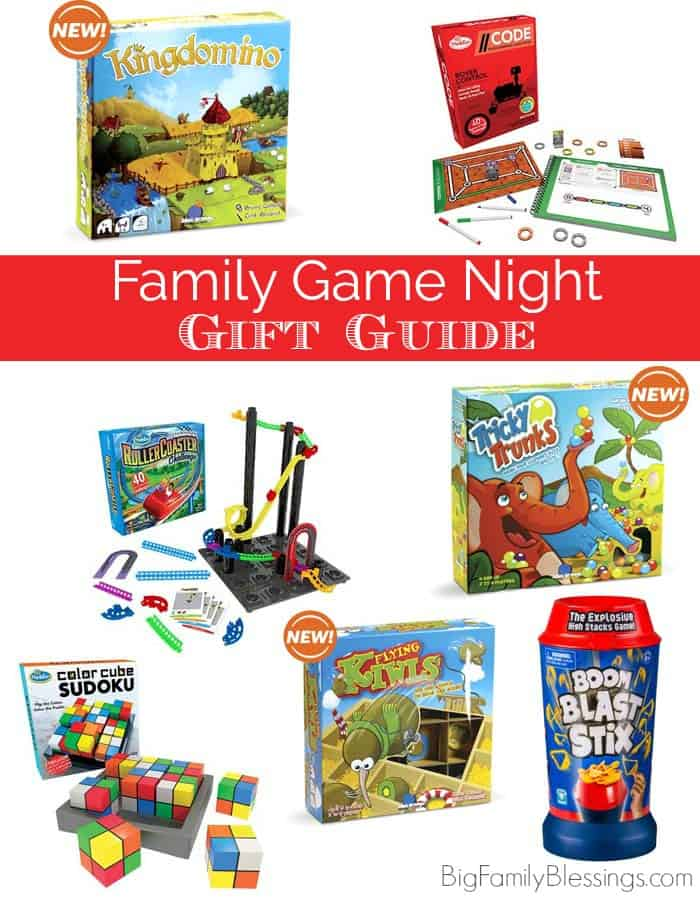 Family Game Night Christmas Gift Guide