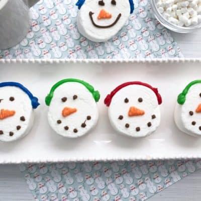 Jumbo Marshmallow Snowmen