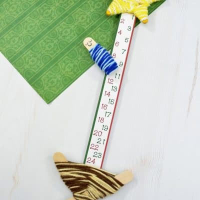 Adorable DIY Nativity Advent Countdown Calendar
