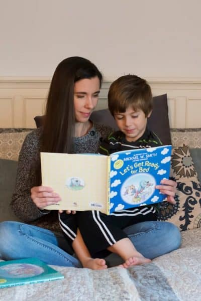 Sweetest Bedtime Reading with Nurturing Steps + Giveaway