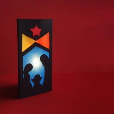 Nativity Scene Luminary