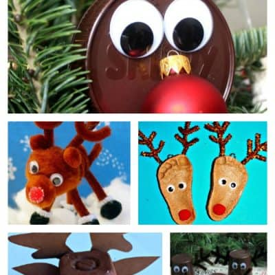 20 Reindeer Crafts for Kids