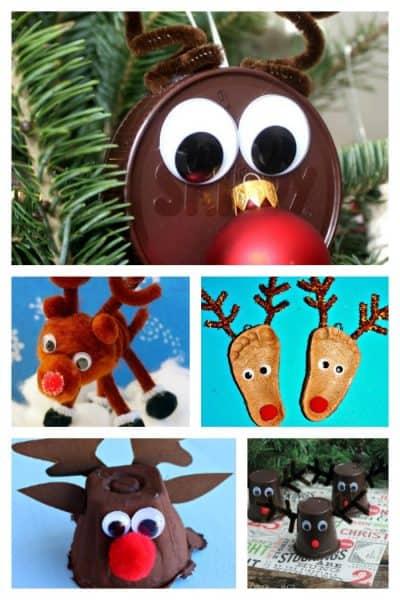 20 Reindeer Crafts for Kids