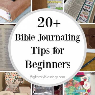 20+ Bible Journaling Tips for Beginners