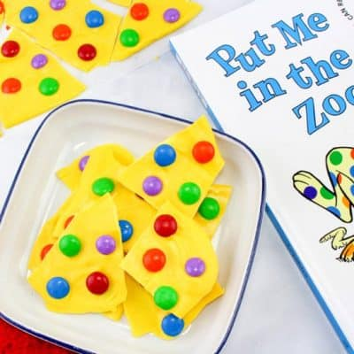 Put Me in the Zoo Bark – Dr. Seuss Day Party Food