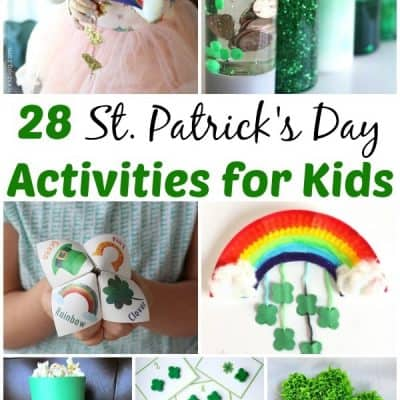 28 St. Patrick's Day Activities for Kids