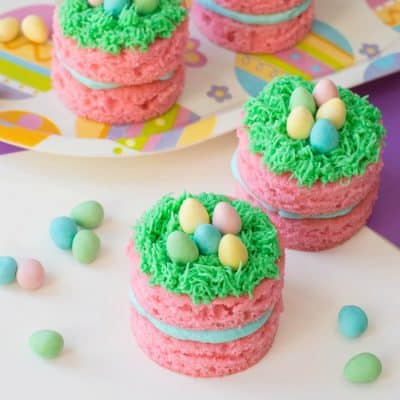 Easter Egg Hunt Mini Cakes