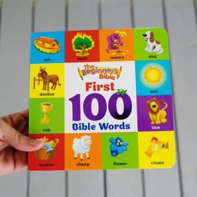 Introduce Your Little Ones to Their First 100 Bible Words