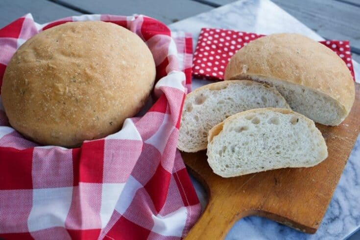 Italian Dairy Free Bread