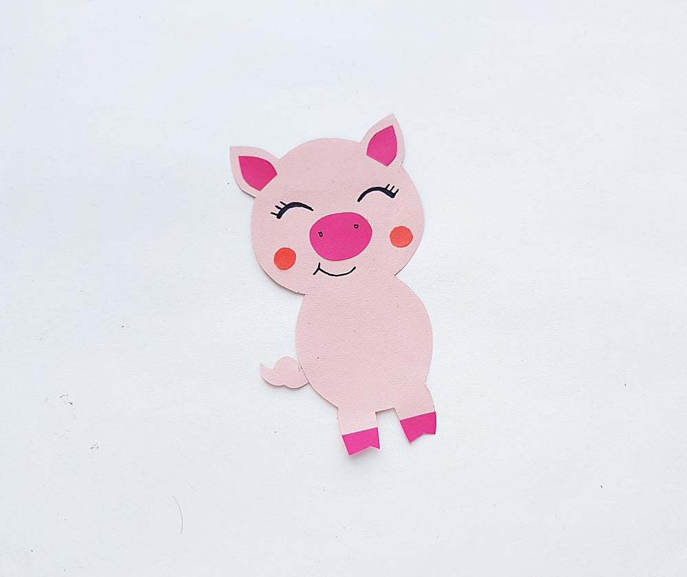 Pig + Piglet Craft