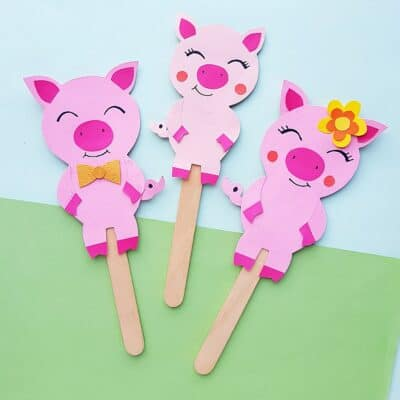 Three Little Pigs Craft
