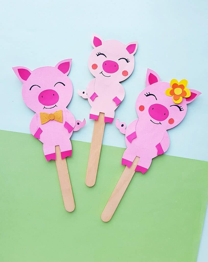 Puppets The Three Little Pigs
