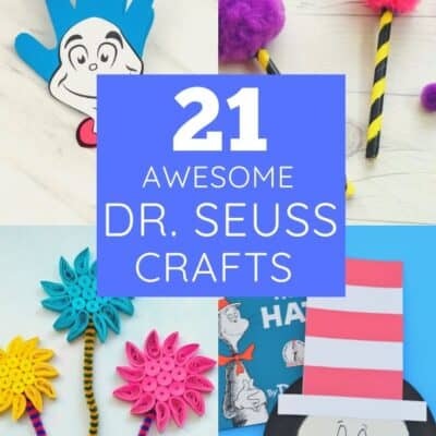 21 Awesome Dr Seuss Crafts for Dr Seuss Week