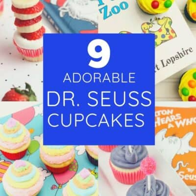 9 Adorable Dr. Seuss Cupcakes