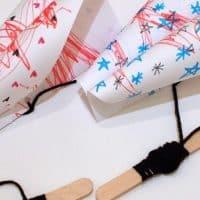 Make a simple paper kite