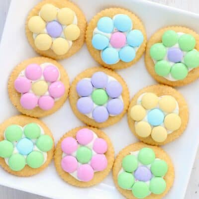 Easy Spring Dessert: Cracker Blossoms