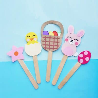 Easter Craft for Kids: Easter Puppets