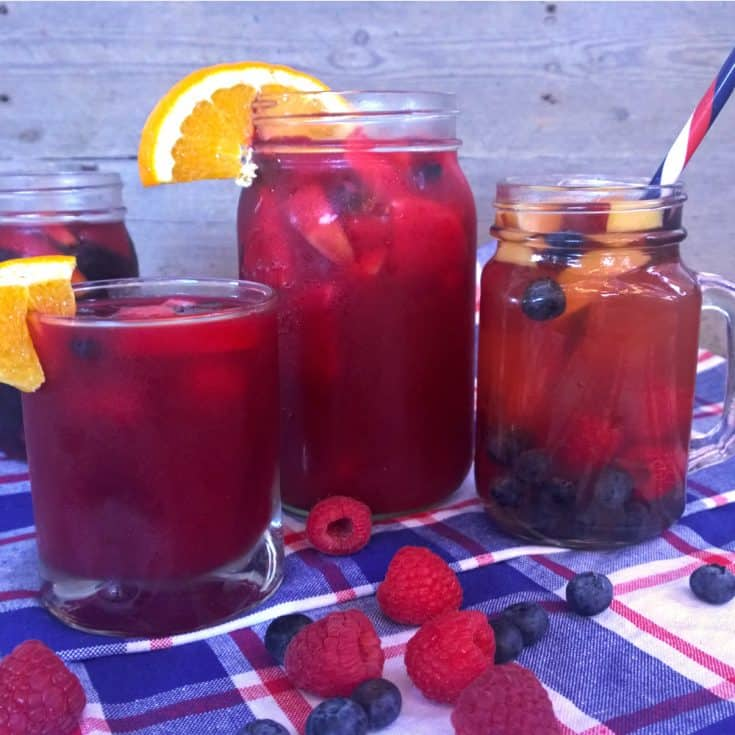 """Can't be """"Beet"""": Beet, Citrus, and Ginger Sangria Mocktail"""