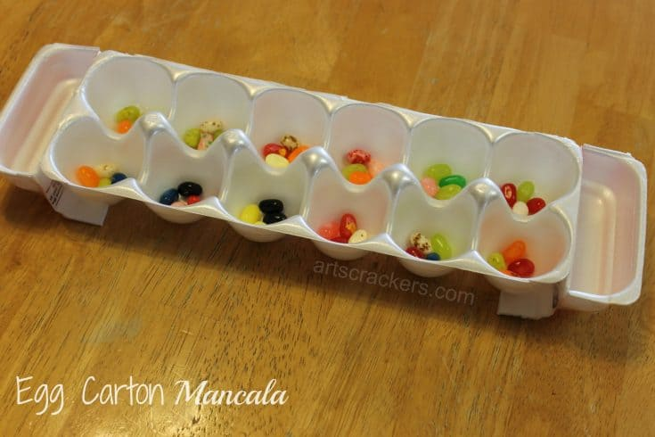 DIY Egg Carton Mancala Craft | Games for Kids
