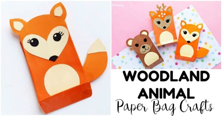Easy Paper Bag Fox Craft for Kids