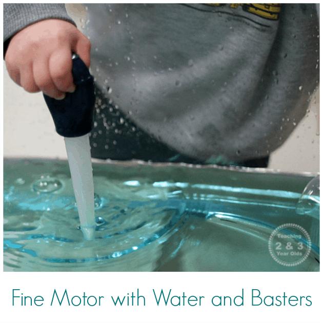 Toddler Fine Motor Water Activity