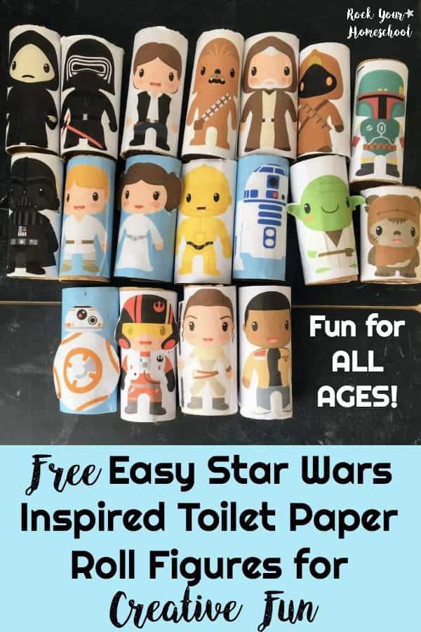 Star Wars Toilet Paper Roll Figures