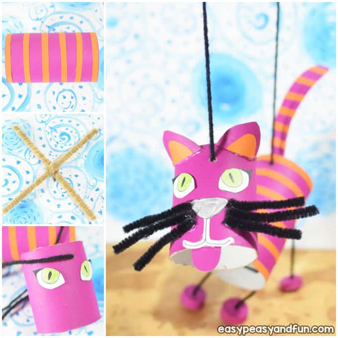 How To Make a Cat Marionette Puppet
