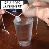 Ice & Rope Experiment