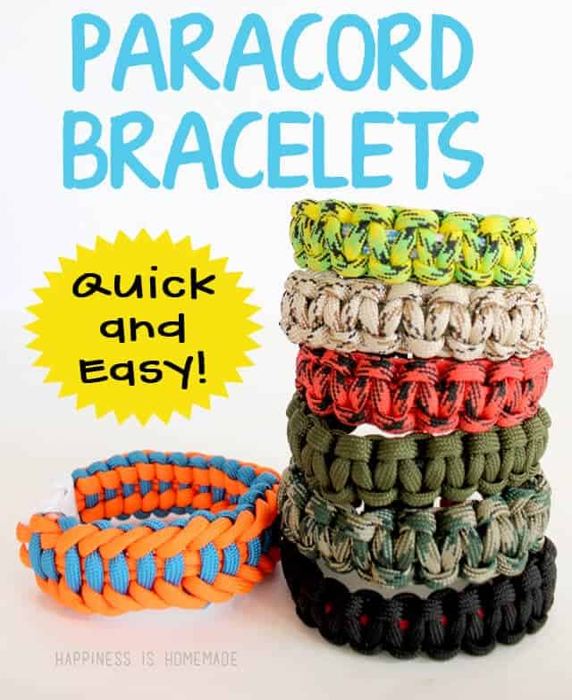 Make Paracord Bracelets