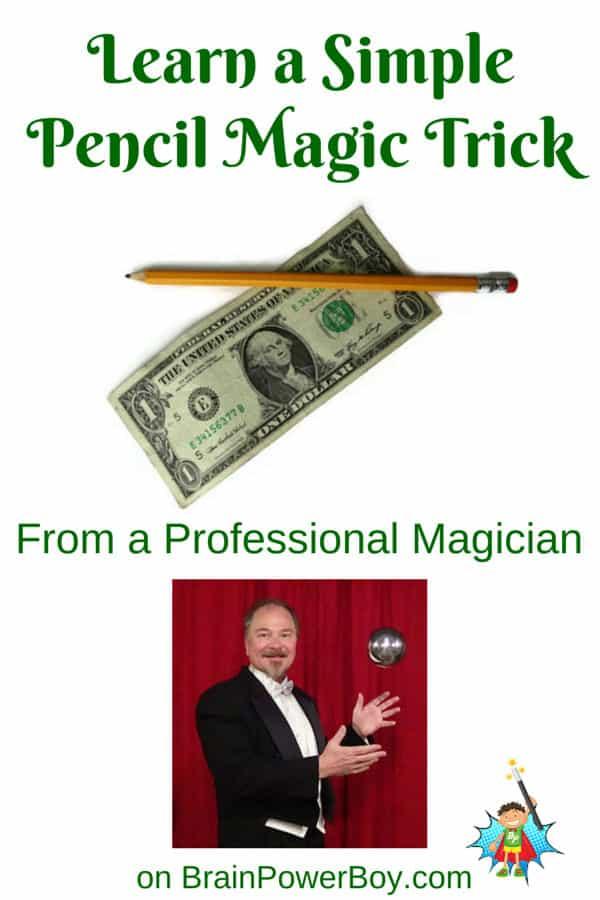 Learn Pencil Magic Tricks: Billatration
