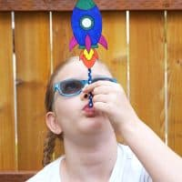 DIY Straw Rockets with Free Printable