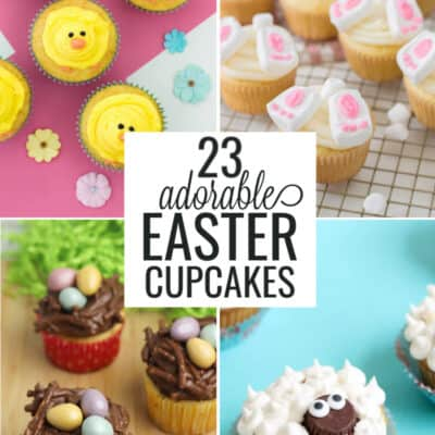 23 Cutest Easter Cupcakes for Kids