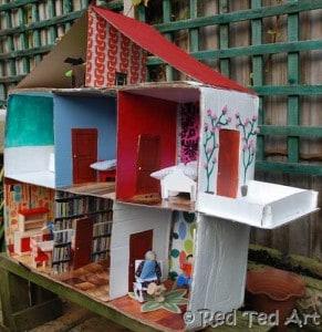 How to... Make A Cardboard Dolls House