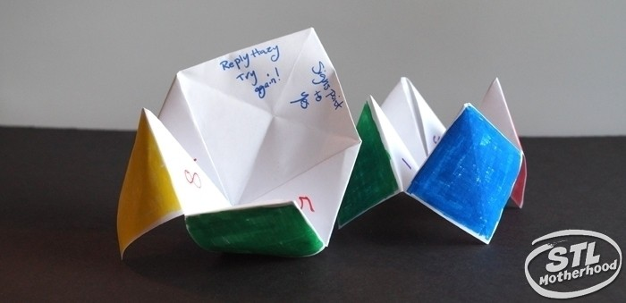 17 Paper Fortune Tellers to Amuse your Kids (with printable)
