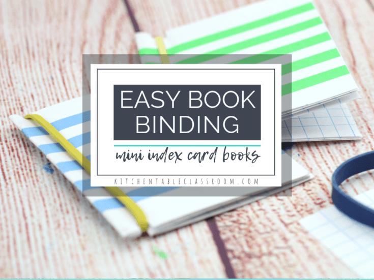 Easy Bookbinding for Kids
