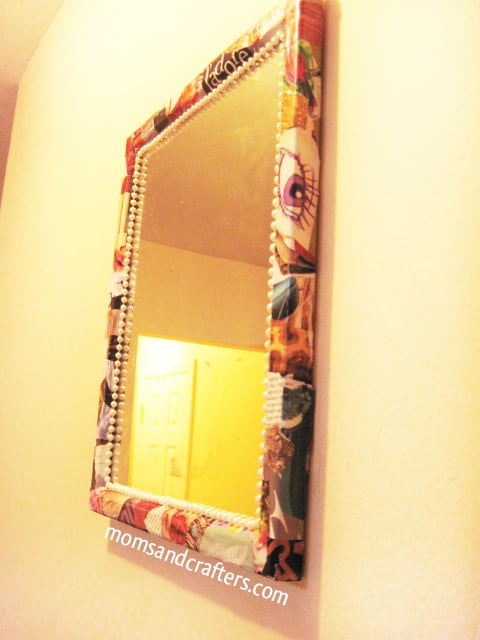 High Fashion Mirror Frame DIY