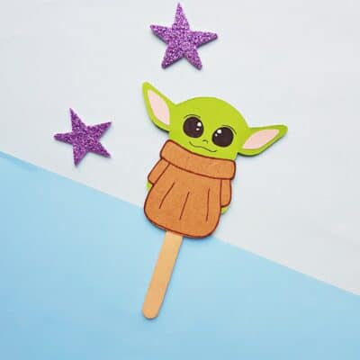 Adorable Baby Yoda Craft