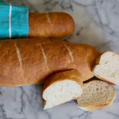 Easy Baguette Recipe (Dairy Free Bread)