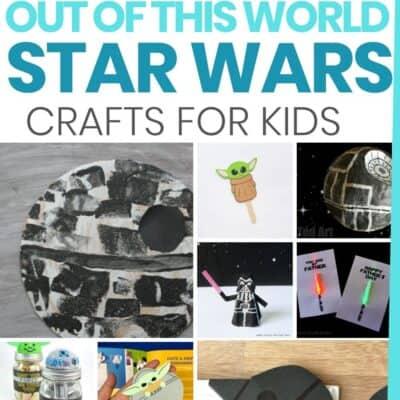 42 Fun Star Wars Crafts for Kids