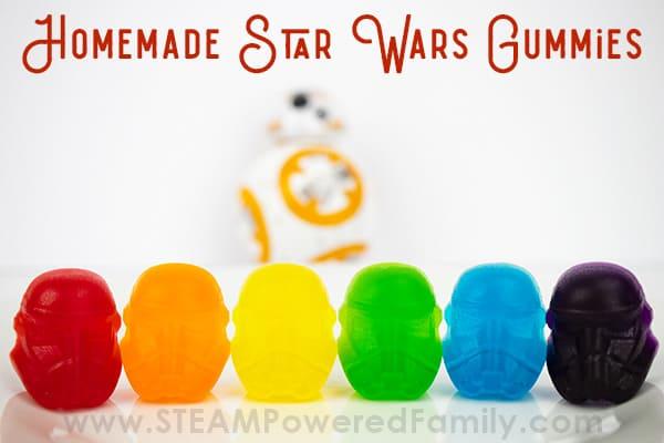 Homemade Star Wars Gummies