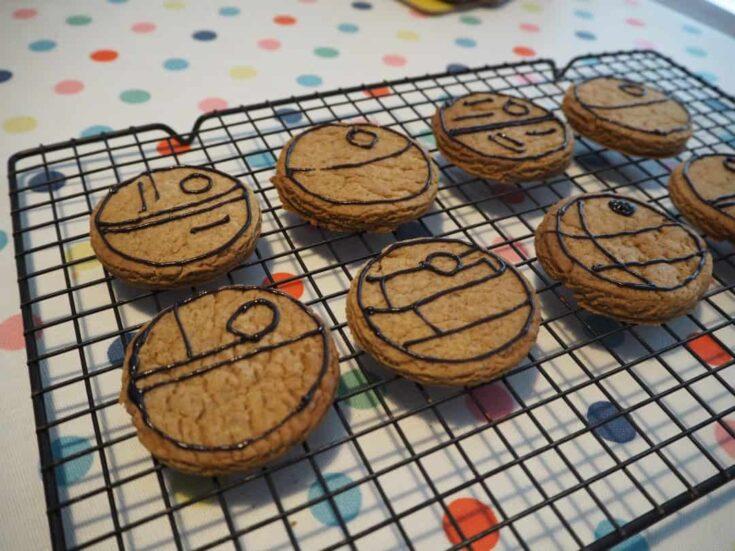 Death Star cookies