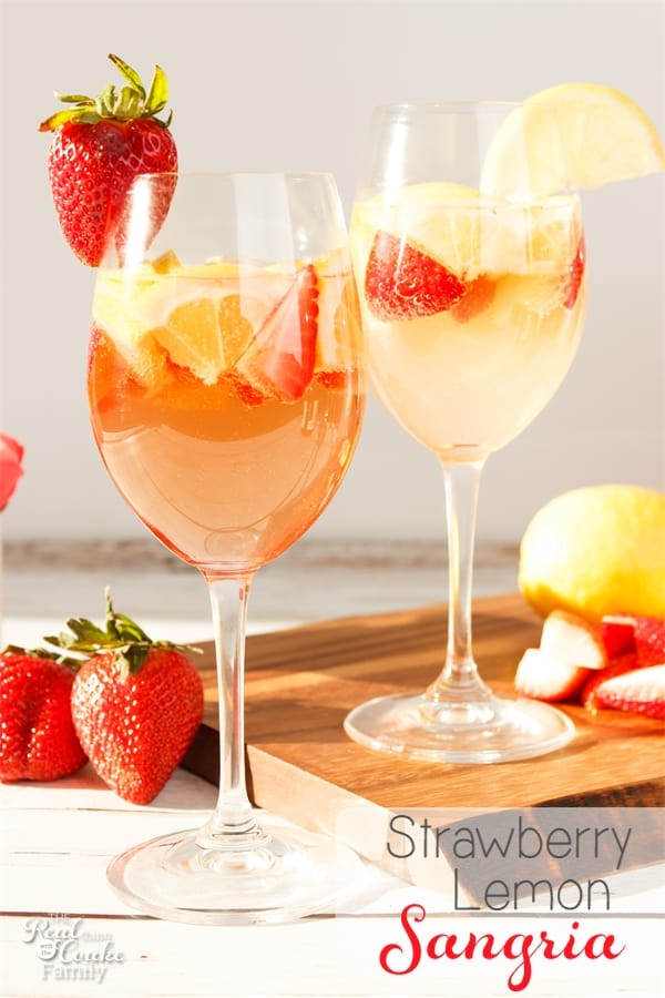 Strawberry Lemon Sangria Recipe