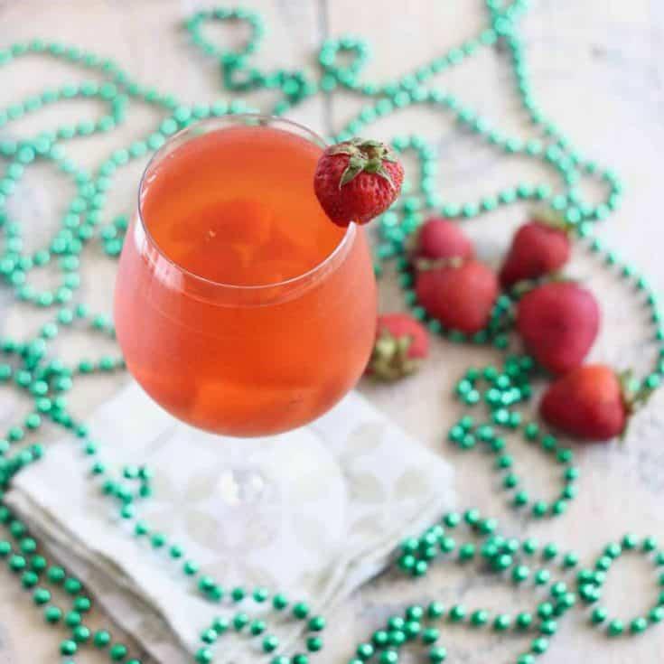 Strawberry Kombucha Sangria