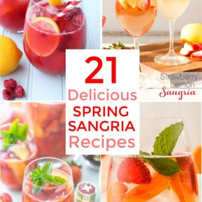 21 Delicious Spring Sangria Recipes