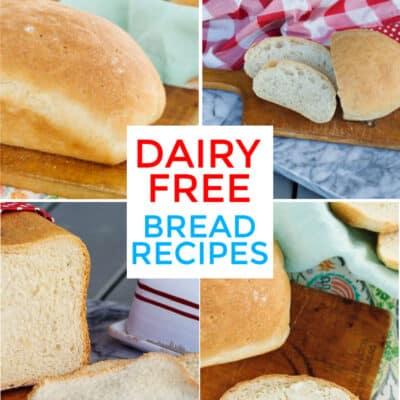 Dairy Free Bread Recipes