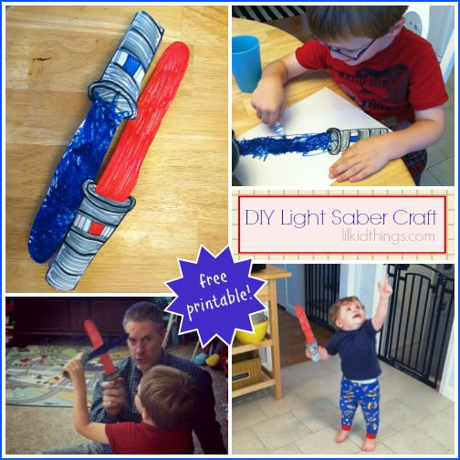 Make your own light saber!