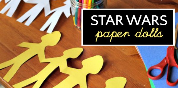 Clone Trooper Paper Dolls