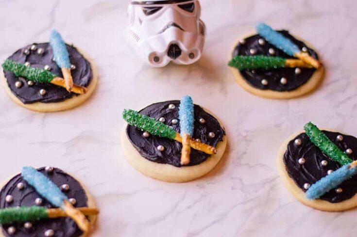 Star Wars Light Saber Cookies