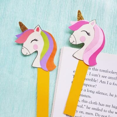 Unicorn Bookmark Craft